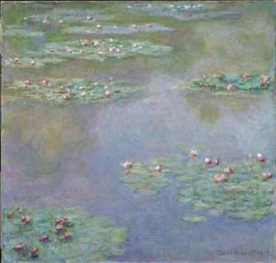 Claude Monet - Water lilies - 1907