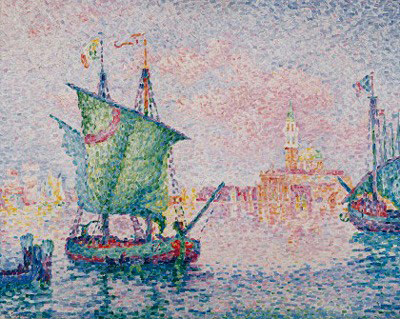 Paul Signac - Venice-the pink cloud -1909