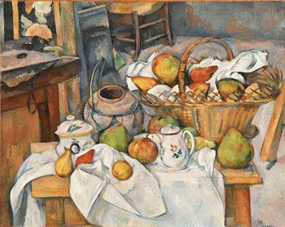 Paul Cézanne -  The kitchen table - about 1888/90