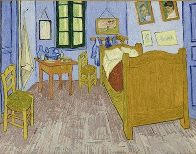 Vincent van Gogh - Van Gogh's bedroom in Arles - 1889